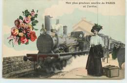 PARIS - Mon Plus Gracieux Sourire De Paris. - Trains