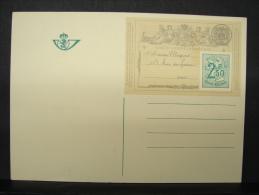 CP. 545. Centenaire De La Carte Postale - Enteros Postales
