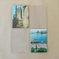 25  Feuilles Transparentes Pour 4 Cartes Postales Modernes - Matériel