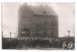 AK UEDEM Bei Kleve - Schüler Vor Der Schule - Gelaufen 1914 - Kleve