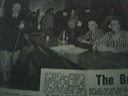 Newspaper Ww2 1945 - Prisoners At Buchenwald German Visitors - 1900-1949