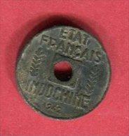 INDOCHINE 1 CENT 1941  TB/TTB 18 - Viêt-Nam