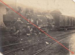 Photo Train Chemin De Fer Atelier De Haine Saint Pierre - Treni