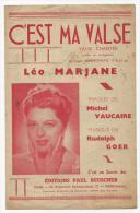 Partition Musicale, Etre Maman, Création O.P.G, Ed: Paul Beuscher, Frais Fr: 1.60€ - Partitions Musicales Anciennes