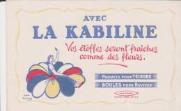 Buvard La Kabiline - K