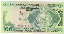 BILLET # VANUATU # 1982 # 100 VATUS # PICK 1 # BILLET NEUF # - Vanuatu