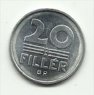 1976 - Ungheria 20 Filler, - Hongrie