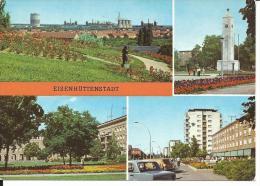 DDR128 - EISENHUTTENSTADT - F.G. NON VIAGGIATA - Eisenhuettenstadt