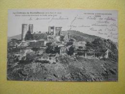 BAS EN BASSET. Le Château De Rochebaron. - Other Municipalities