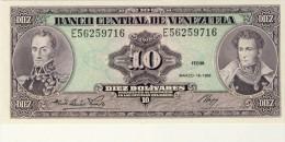 BILLET # VENEZUELA # 1986 # 10 BOLIVARES # PICK 66 # BILLET NEUF # - Venezuela