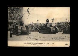 MILITARIA - Matériel Militaire - Char D'assaut - Fêtes De La Victoire - 14 Juillet - Ausrüstung