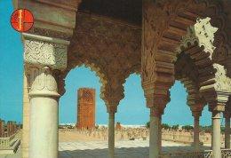 La Tour Hassan  -  Hassan Tower  Rabat  Morocco    # 02921 - Rabat