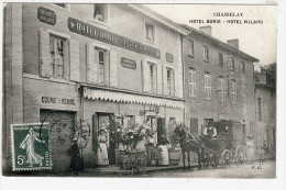 69- CHASSELAY-HOTEL  BORIE  N1769 - Non Classés