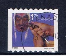 CDN Kanada 2002 Mi 2025 Schnitzen - Gebraucht