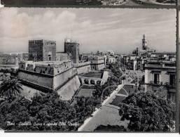 1955 BARI CASTELLO SVEVO E CITTA' VECCHIA FG V SEE 2 SCANS TARGHETTA - Bari