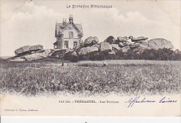 Cpa TREGASTEL Les Tortues - Dolmen & Menhirs