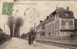 76 Boos. Route De Rouen - Francia