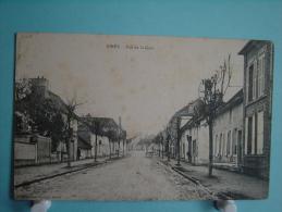 10 - Piney - Rue De La Gare - Autres Communes
