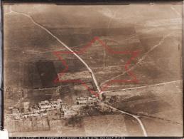 Photo Aérienne Juillet 1918 LE FRETOY, LE FRESTOY-VAUX (près Maignelay-Montigny, Montdidier) - Est, Tranchées (A52, Ww1) - Frankrijk