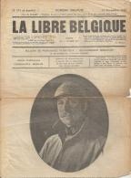 Journal  LA LIBRE BELGIQUE     No 171 Et Dernier    Du 12 Novembre 1918 - 1914-18