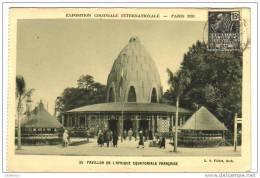 Exposition Coloniale  Internationale Paris 1931 - Poststempel (Briefe)