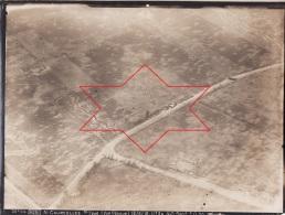 Photo Aérienne Juin 1918 COURCELLES-EPAYELLES (près Maignelay-Montigny) - Nord, Le Champ De Bataille, Tranchées.. (A52) - Frankrijk
