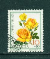 SWITZERLAND - 1972  Pro Juventute  10+10c  Used As Scan - Pro Juventute