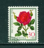 SWITZERLAND - 1972  Pro Juventute  30+10c  Used As Scan - Pro Juventute