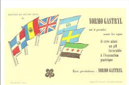 Buvard UPSA  Normo Gastryl Collection Des Drapeaux Des Nations Unies N°XI - Drogheria