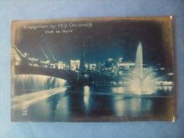 75-PARIS Expositon Des Arts Décoratifs De 1925 , Vue De Nuit - Arrondissement: 07