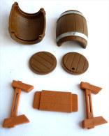 figurine TONNEAU AVEC SON SUPPORT - PLAY ASTERIX TOY CLOUD CEJI