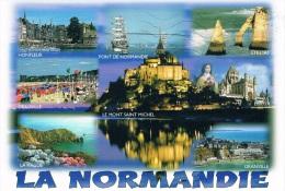LA NORMANDIE : Honfleur, Pont De Normandie, Etretat, Deauville, Le Mont Saint-Michel, Lisieux, La Hague, Granville - - France