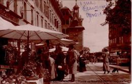 SUISSE - GENEVE - MARCHE AUX FLEURS - PLACE MOLARD - STYLE CARTE PHOTO. - GE Geneva