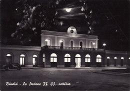 BRINDISI  /   La Stazione FF.SS.  _ Viaggiata - Brindisi