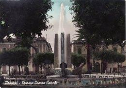 BRINDISI  /   Fontana Piazza Cairoli  _ Viaggiata - Brindisi