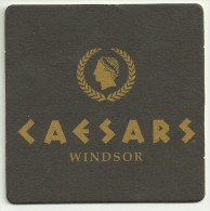 Sottobicchiere / Beer Mat Caesar Windsor - Beer Mats