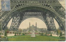 Paris  - Le Trocadéro Vu De La Tour Eiffel   -  1910 - Eiffelturm