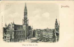 Bruxelles - Place De L´Hotel De Ville - Places, Squares