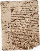 VP873 - LAGNY AN 6 - Acte D´ Obligation Mrs BLONDELEAU X PAULERRET - Seals Of Generality