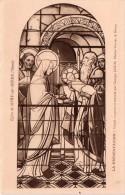 2 Cpa 1931, Vitraux La Présentation Et La Résurrection, Oeuvre De G.JANIN (27.8) - Nancy