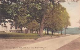 Octoraro Church 1720, And Trail Near COATESVILLE, Pennsylvania, PU-1929 - United States