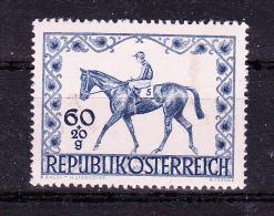 AUSTRIA  1947 ,  Wien Hypo Derby     , Y&T  #  674    Cv  0.50   E ,  ** M N H , V V F - 1945-.... 2a Repubblica