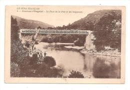 Environs D'Orgelet  -  Le Pont De La Pile Et Les Baigneurs. - France