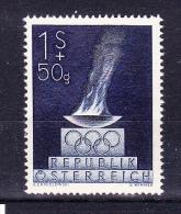 AUSTRIA  1948 ,  London Olympic Games  , Y&T  #  696    Cv   0.75   E ,  ** M N H , V V F - 1945-.... 2a Repubblica