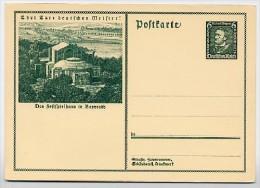 DR  P249  Sonder-Postkarte RICHARD WAGNER **  1933  Kat. 5,00 € - Musique