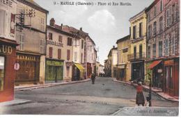MANSLE - Place Et Rue Martin - Mansle