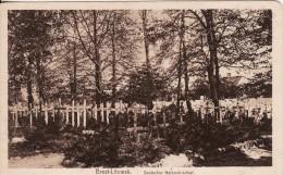 BREST-LITOWSK (Belarus-Russie) Cimetière Militaire Allemand-Deutscher Heldenfriedhof-FRIEDHOF-Briefstempel-Feldpost - Belarus