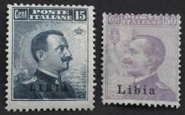 Italie Lybie 1912 Neufs * (3 Scans) - Libia