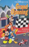 Télécarte Japon DISNEY STORE GO / 110-181159 - MICKEY Donald SUZUKA 1996 - Japan Phonecard Telefonkarte / 4000 EX - Disney