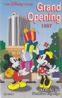 Télécarte Japon DISNEY STORE GO / 110-193074 - MICKEY MINNIE Ikebukoro 1997 - Japan Phonecard Telefonkarte - Disney